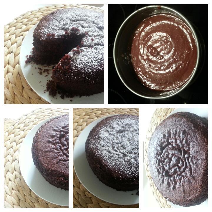 Schokoladenkuchen Glutenfrei Ohne Ei Mit Puderzucker