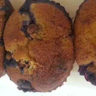 Blaubeer Muffins glutenfrei