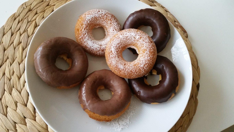 Glutenfreie Donuts aus dem Backofen