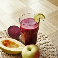 Apfel Rote Bete Saft Rezept mit dem Entsafter selber machen