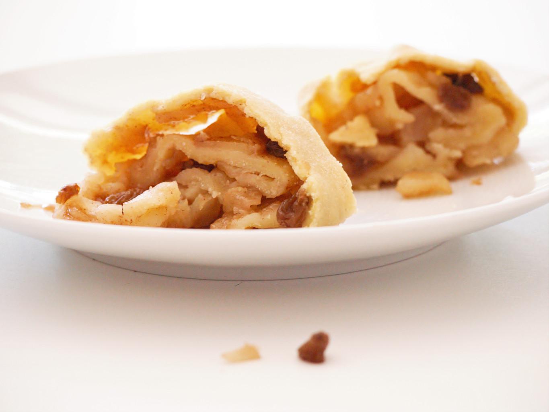Apfelstrudel glutenfrei und vegan mit Reismehl