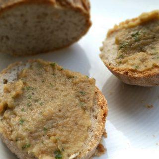 Auberginen Aufstrich marokkanischer Art glutenfrei und vegan
