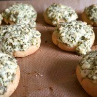 Brötchen mit Hirtenkäse glutenfrei