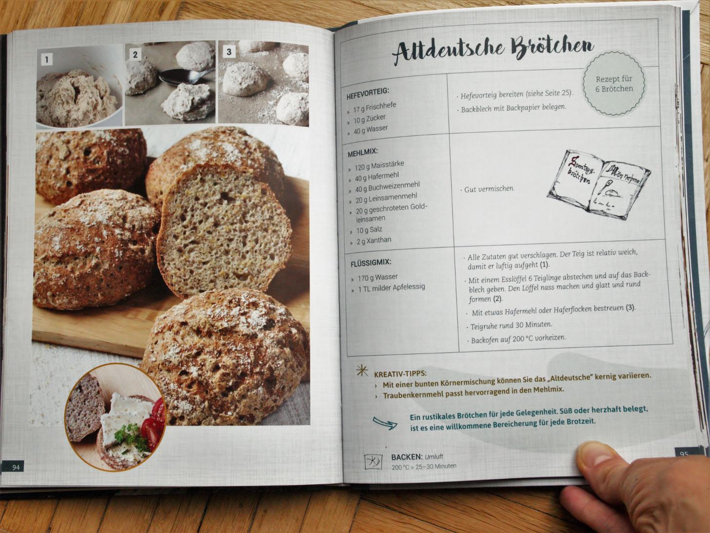 Brot, Brötchen & mehr – Glutenfrei Backen – Wie denn sonst! von Elke Schulenburg, Altdeutsche