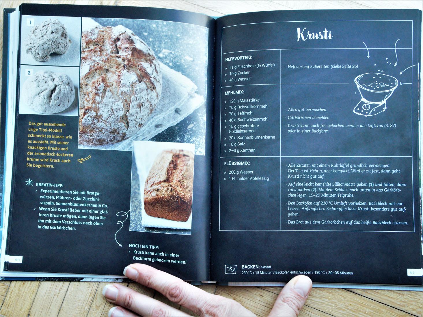 Brot, Brötchen & mehr – Glutenfrei Backen – Wie denn sonst! von Elke Schulenburg, Krusti