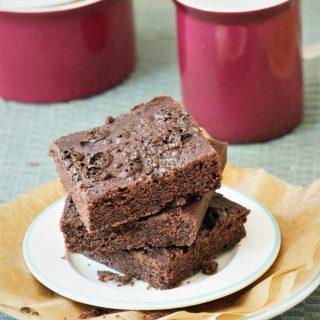 Brownies glutenfrei backen mit Reismehl