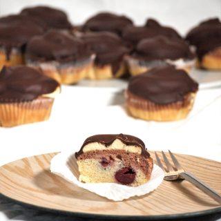 Donauwellen Muffins glutenfrei