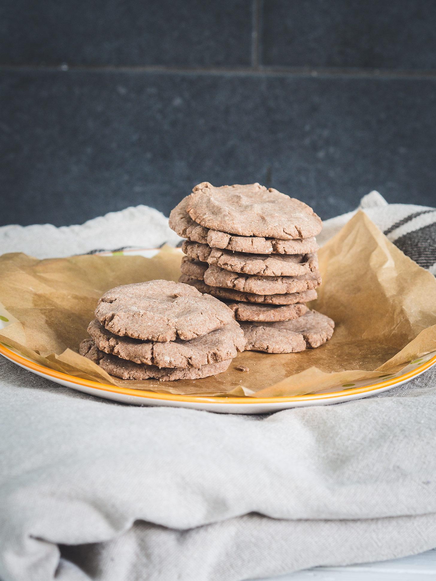 Einfache glutenfreie Kekse