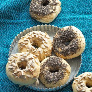 Glutenfreie Bagels selber backen