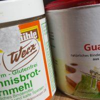 Glutenfreie Bindemittel