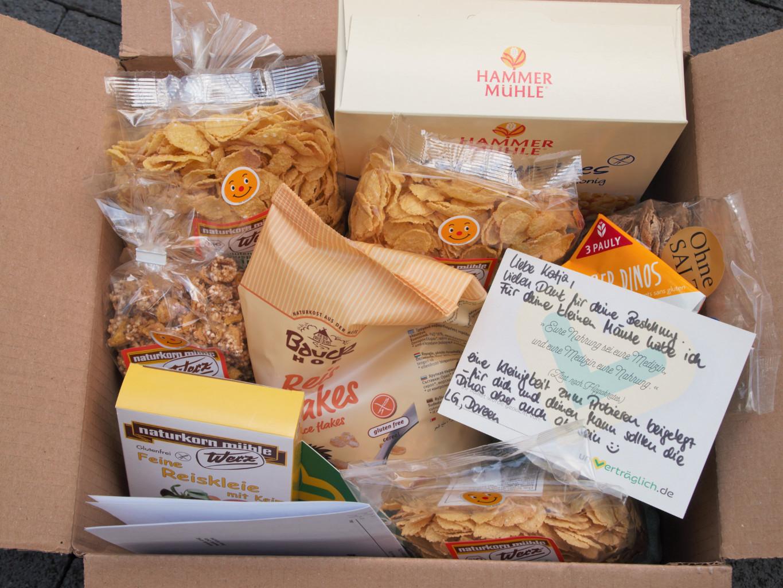 Glutenfreie Lebensmittel online bestellen