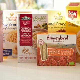 Glutenfreie Produkte bestellen - mein Shop Test von FoodoaseGlutenfreie Produkte bestellen - mein Shop Test von Foodoase