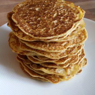 Glutenfreie süße Pfannkuchen