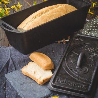Glutenfreies Brot im Petromax
