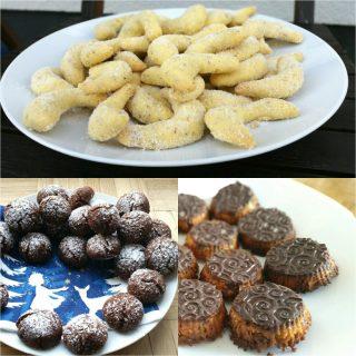 Weihnachtsrezepte glutenfrei, glutenfreie Plätzchen und mehr