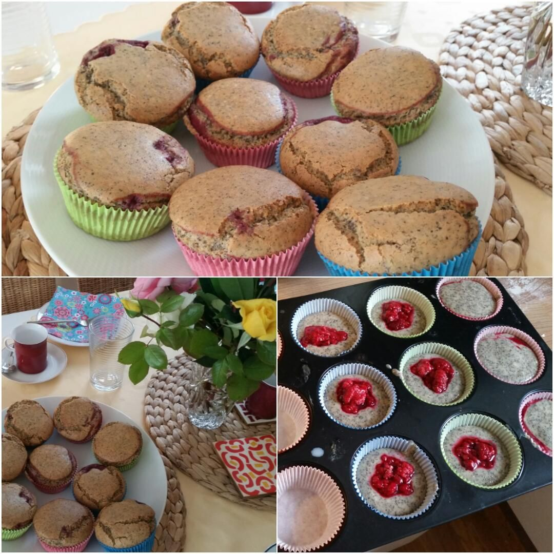 Himbeer-Mohn-Muffin-Collage2