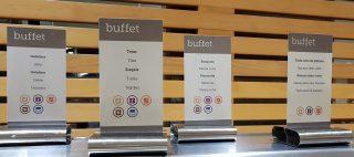 Kennzeichnung der Allergene am Buffet