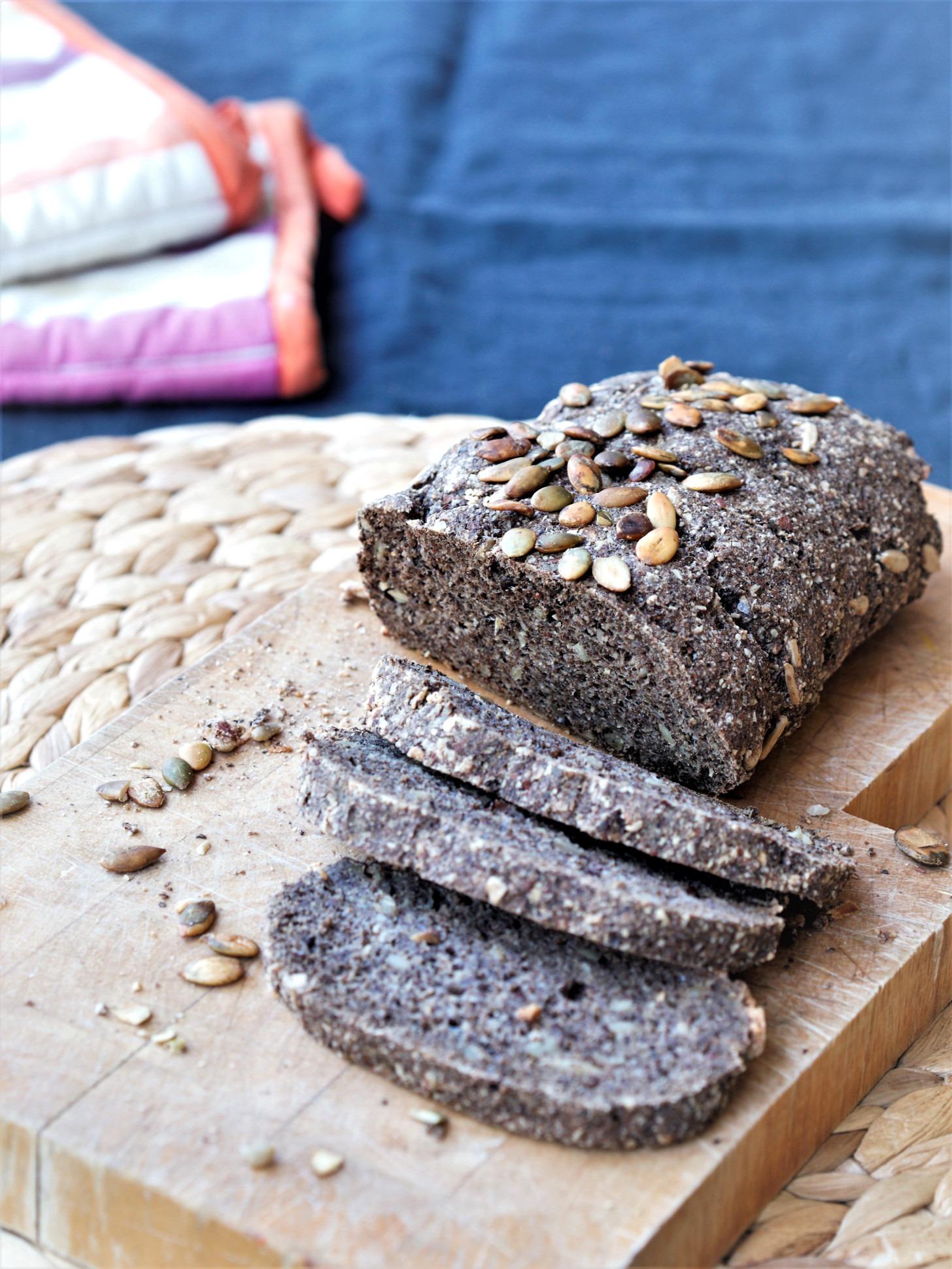 Low Carb Brot glutenfrei ohne Ei