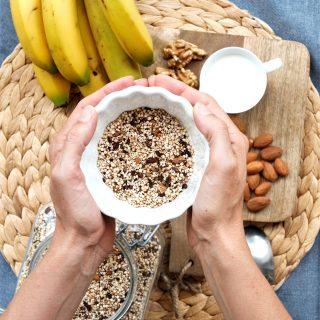 Müsli mit Quinoa und Amaranth glutenfrei