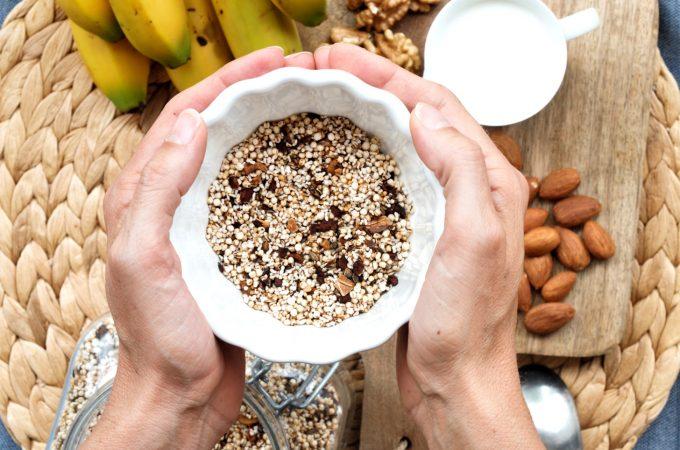 Müsli mit Quinoa und Amaranth