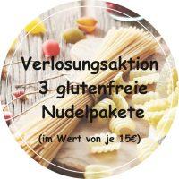 Verlosungsaktion 3 glutenfreie Nudelpakete