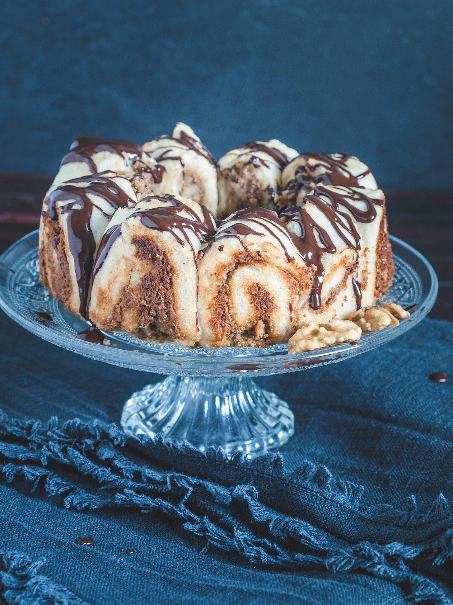 Nuss Zimt Kuchen