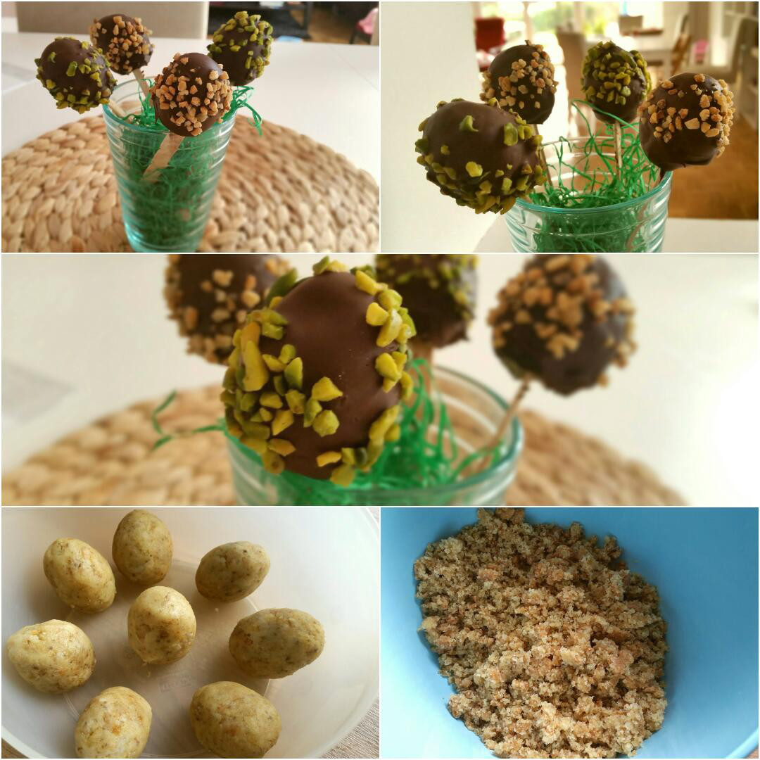 Ostereier Cake Pops glutenfrei Collage1