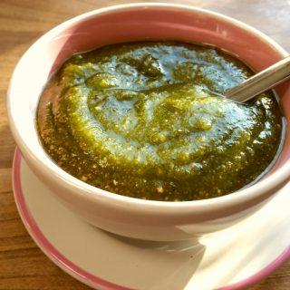 Pesto selber machen, glutenfrei, ohne Ei, ohne Knoblauch