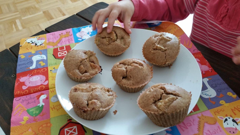 Rhabarber Muffins glutenfrei