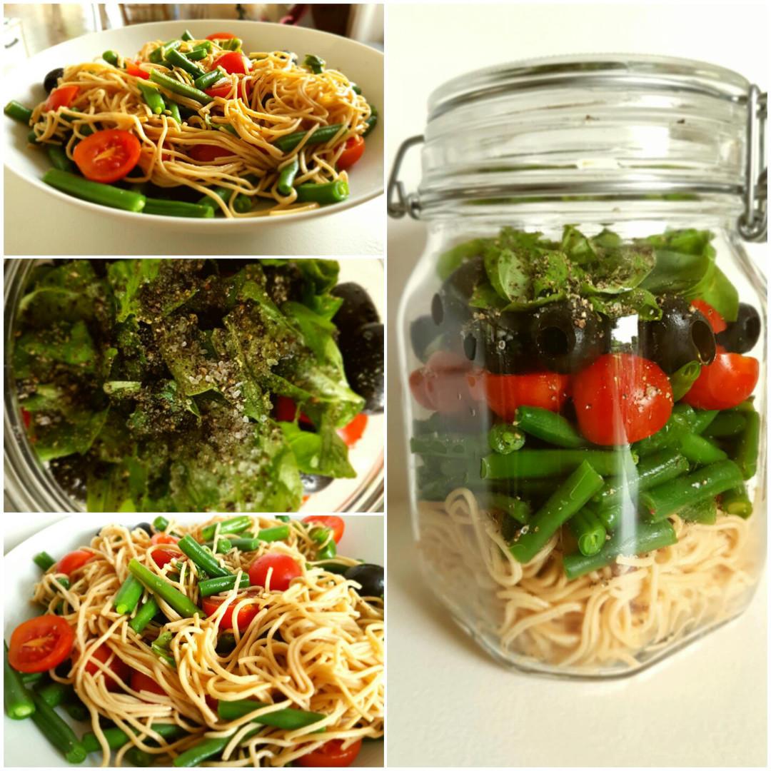 Sojanudeln-mit-Bohnen-glutenfrei-und-vegan-Collage