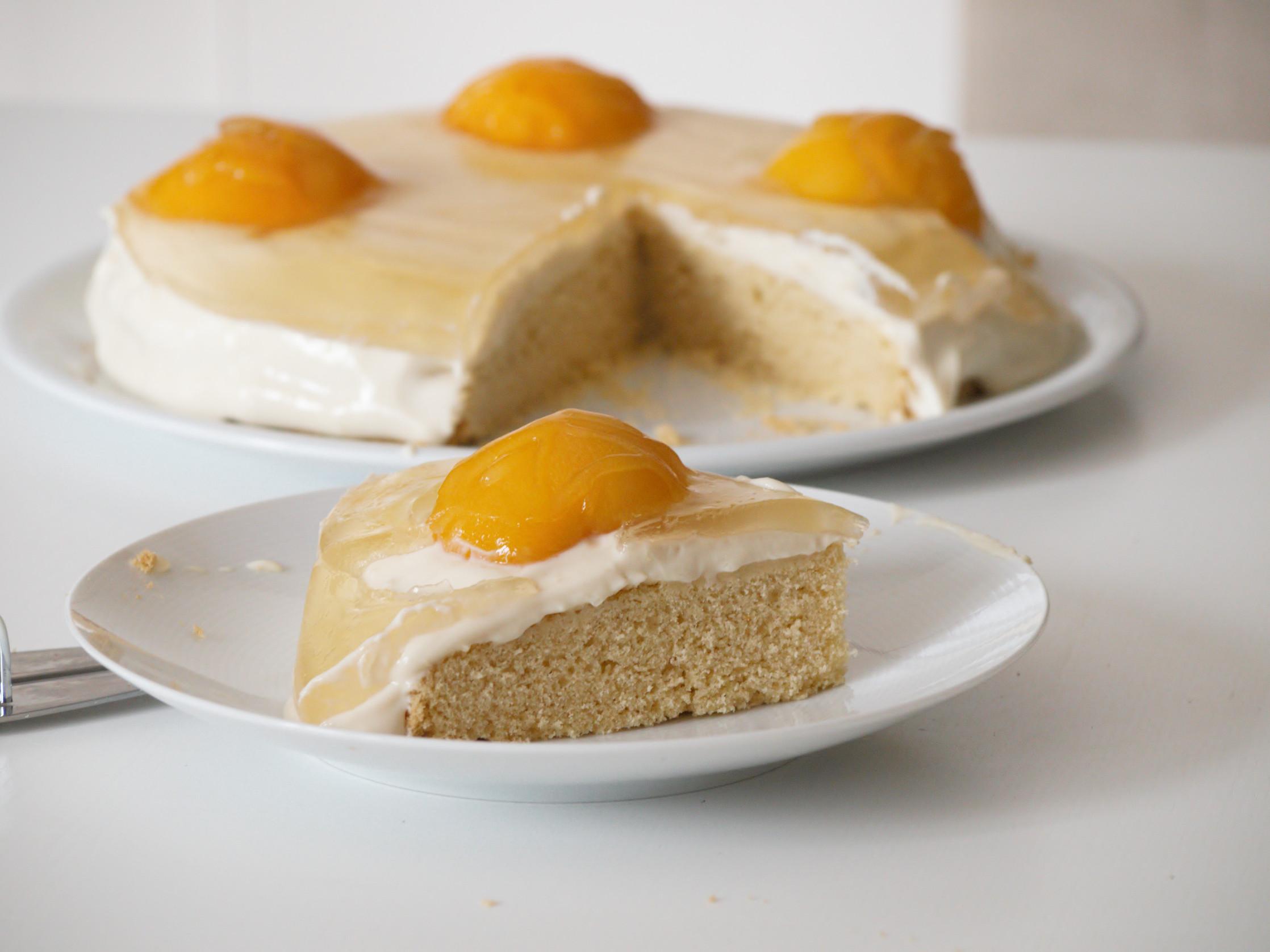 Spiegeleikuchen glutenfrei oder Ostereikuchen