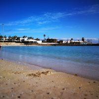 Strand Caleta de Fuste Fuerteventura
