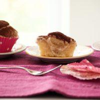 Tiramisu Muffins glutenfrei und vegan mit Reismehl