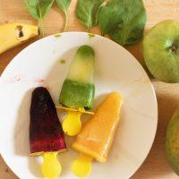 Wassereis selber machen, glutenfrei und gesund