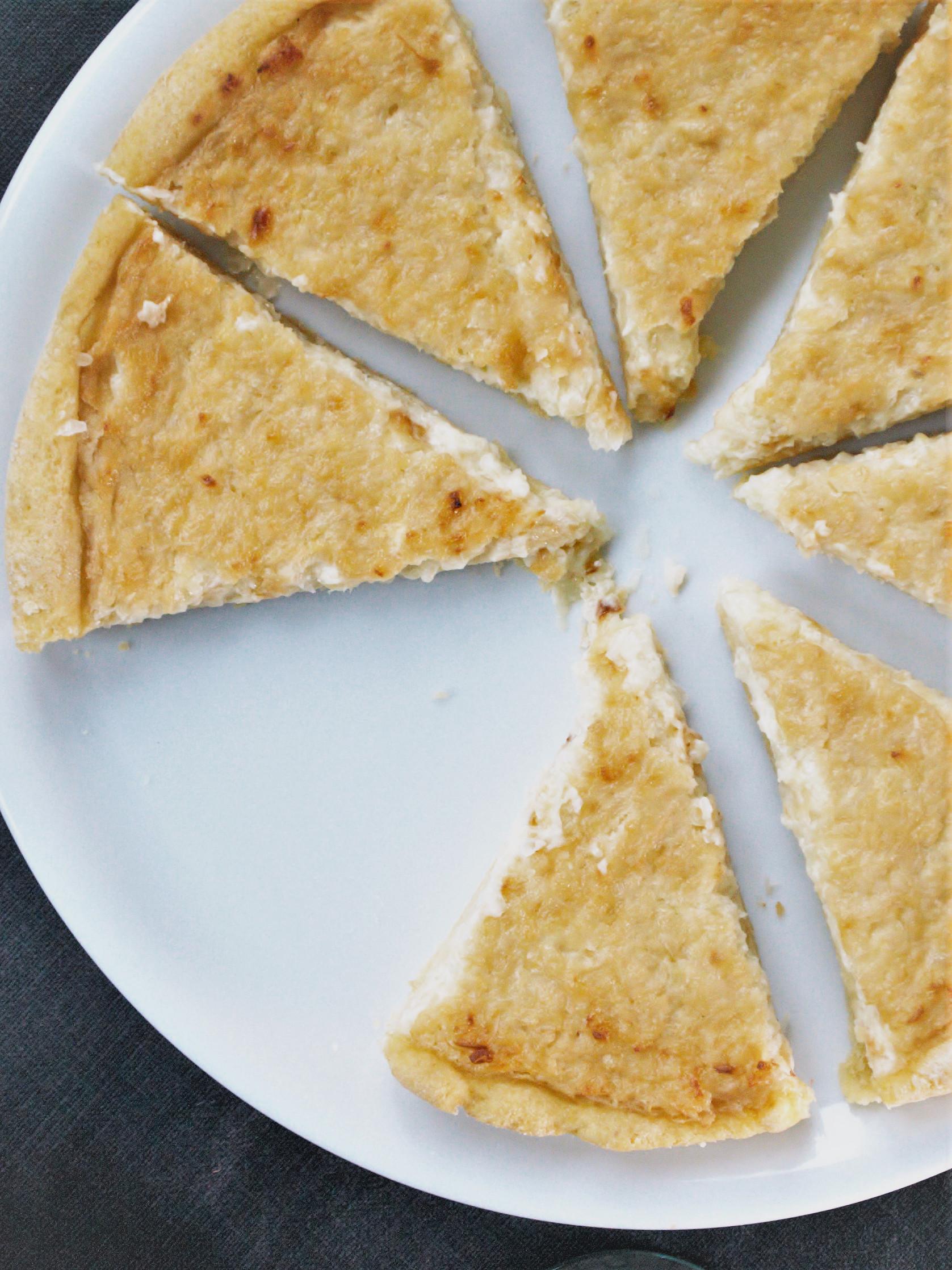Zwiebelkuchen glutenfrei backen1